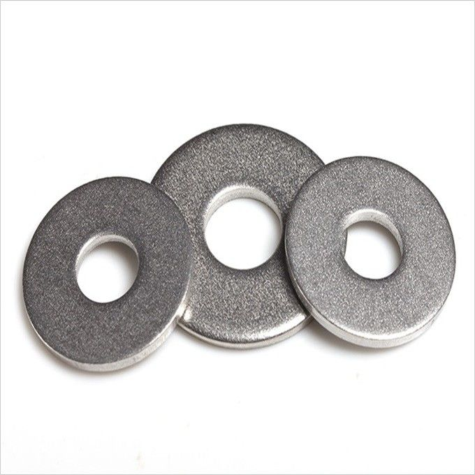 Precision DIN Metal Flat Washers Standard With Zinc Blue Yellow Color