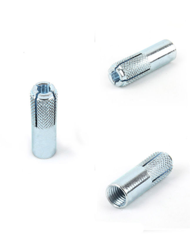 Carbon Steel Color Zinc Plated Drop In Anchor Bolt M6 - M20 DIN